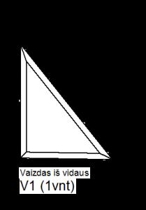 PVC Aluplast (6 kam.) langas