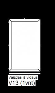 Aliuminė vitrina