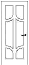 MDF durų plokščių ornamentai: