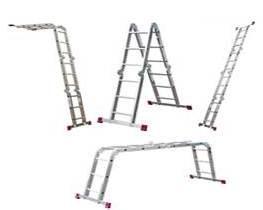 Daugiafunkcinės kopėčios (aliuminės)