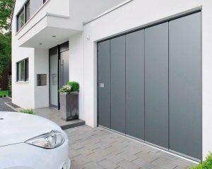 Segmentiniai nustumiami garažo vartai