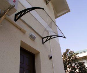 PVC stogeliai virš durų ir langų